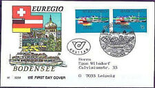 Österreich 1993: EUREGIO Bodensee! FDC Nr. 2096! Gelaufen! St. Bregenz! 1A! 1708