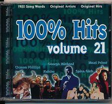 100% Hits - Savage Garden,Maxi Priest,Pet Shop Boys,George etc cd