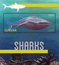 Guyana-2013-Marine Life-Fish-FSHARKS SHEETLET OF 6