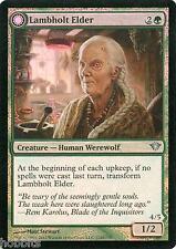 MTG - Dark Ascension - Lambholt Elder / Silverpelt Werewolf - Foil - NM