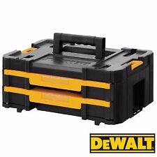 DeWalt DWST1-70706 TStak IV 2 Shallow Drawer Tool Storage Kit Box