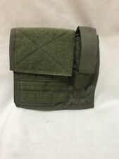EAGLE INDUSTRIES Admin Pouch W/Light MOLLE Front RANGER GREEN RLCS