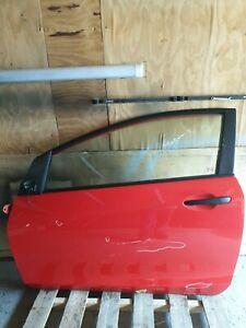 Mazda 2 3DR 2007-2012 Complete Passenger Side Front Door Red