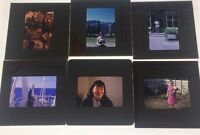 Lot Of 13 Vintage Color Photo Slides Individual Women