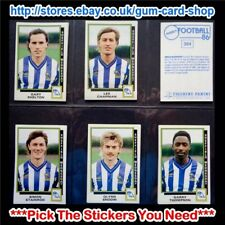 ☆ Panini Football 86  (Stickers 300 - 399) (GOOD) *Select the Stickers You Need*