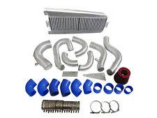 FMIC Intercooler Piping Kit + Intake Filter 87-93 Mustang 5.0 Supercharger-BLUE