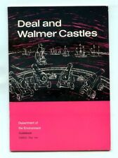 DEAL and WALMER CASTLES Guide Book by A.D. Saunders - Illustrated - HMSO 1963