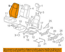 Chevrolet GM OEM 05-07 Cobalt Front Seat-Cushion Cover-Top Back 15264735