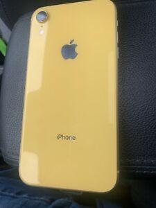 Apple iPhone XR - 64GB - Yellow (Sprint) NETWORK UNLOCKED