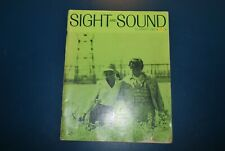 Vintage Sight & sound summer 1967 film Cannes movies rare collectable magazine