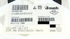 5x Jauch JO75 Oszillator 4.0960 MHz   +-50PPM   30pF   3.3V   7.5x5mm