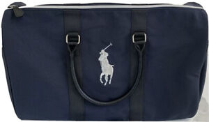 RALPH LAUREN Fragrances Blue Duffel Overnight Travel Bag *New* Weekender Gym Bag