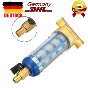 """Rückspülfilter Wasserfilter 3/4"""" Vorfilter Hauswasserstation Entkalken Hot! DE"""