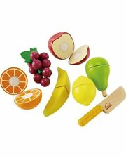 Hape Fresh Fruit Pretend Food Kitchen Cooking Role Play New