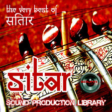 SITAR REAL - UNIQUE Perfect WAVE/NKI Multi-Layer Studio Samples Library on DVD