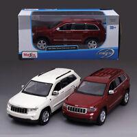 1:24 Maisto Jeep Grand Cherokee Laredo Metal Alloy Diecast Model SUV Car Kid Toy