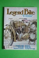 LEGEND BIKE N.68/1998 MOTO HONDA 350 PIAGGIO VESPA 50 1963 EXCELSIOR 1000 TAURUS