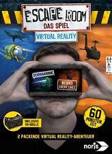 Noris 606101666 Escape Room das Spiel Virtual Reality NEU OVP 2 Abenteuer