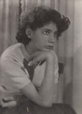 #41006 Greece 1950. Young woman. Photo PC size RPPC