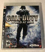 Call of Duty: World at War PS3 FREE Shipping