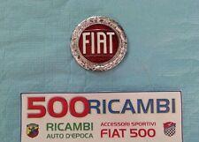 FIAT 500 F/L/R LOGO STEMMA FIAT PER MASCHERINA CROMATO GRIGLIA FRANCIS LOMBARDI