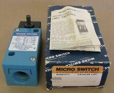 Micro Switch Lsa2B Heavy Duty Limit Switch 10Amps 600Vac