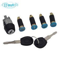 Complete Set Ignition Switch Door Lock Barrel for VW T4 TRANSPORTER 1990-