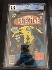 BATMAN'S DETECTIVE COMICS #475 (1978) CGC 9.0