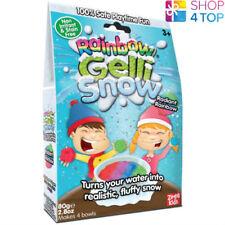 Gelli Snow Rainbow Artificial Snow Balls Fluffy Christmas Kids Children New