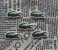 Alligator Logo Iron On Patch Embroidered Sew On Appique Badge For Clothing