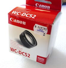 Canon WC-DC52 Wide Angle Lens Converter - NEW
