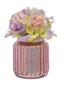 Ganz Pink Peony Antique Glass Arrangement (GF0030)