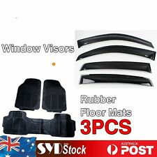Auto Rubber Floor Mat & Weathershields For Volkswagen VW Golf MK6 GTI 2009-2012