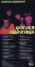 "Golden Earring (Golden Earrings) ""Winter-Harvest"" Ihr 2. Werk, von 1967! Neue CD"