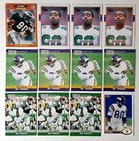 1989 Topps #121 Cris Carter RC HOF Vikings Eagles Ohio State 1989 Pro Set Upper