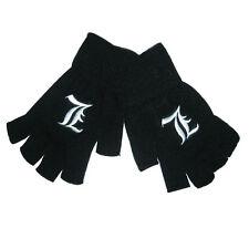 Death Note Anime L Black Cotton Gloves