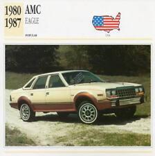 1980-1987 AMC EAGLE Classic Car Photograph / Information Maxi Card