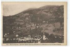 74 saint gervais les bains et le chemin de fer du mont blanc