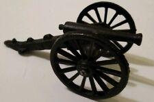 Small Cast Metal Black Cannon