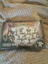 Juegos taller Warhammer 40k Necromunda Escher Gang