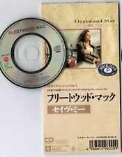 "FLEETWOOD MAC Save Me /Another Woman JAPAN 3"" CD WPDP-6220 ex.Rental Unsnapped"