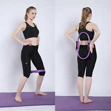 Resistance Yoga Ring Grip Fitness Pilates Ring Circle Double Handle Yoga Hoop