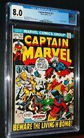 CAPTAIN MARVEL #23 1972 Marvel Comics CGC 8.0 VF