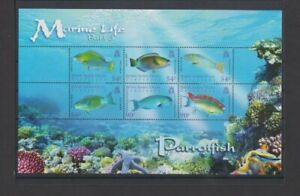 BIOT 2007 Marine Life Parrotfish M/S MH per scan .. hinge remnants