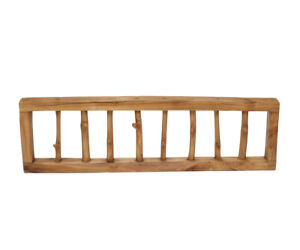Coat Rack Wall Hook from Teakwood Hook BAR Natural Branch Hook Wood Robust