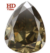 Natural Loose Diamond Green Color Pear VS1 Clarity 5.40 MM 0.37 Ct L5135