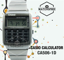 Casio Calculator Watch CA506-1D