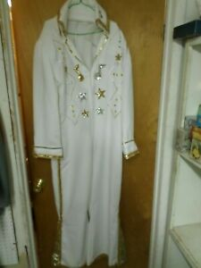elvis suit hand made lots of bling with cape and belt
