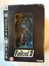 FALLOUT 3 LIMITED COLLECTORS EDITION + FIGURE FIGURINE PLAYSTATION 3 PS3 GAME