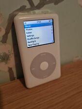 Apple Ipod Classic 20GB 4th Gen A1099 White